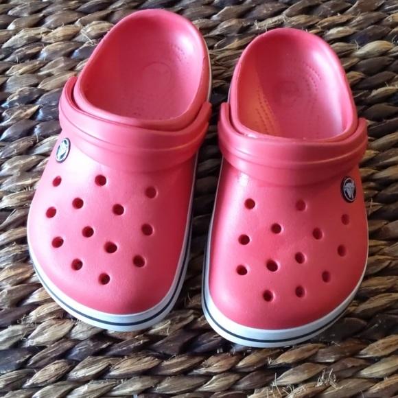 CROCS Shoes   Size Boys Crocs Red Guc